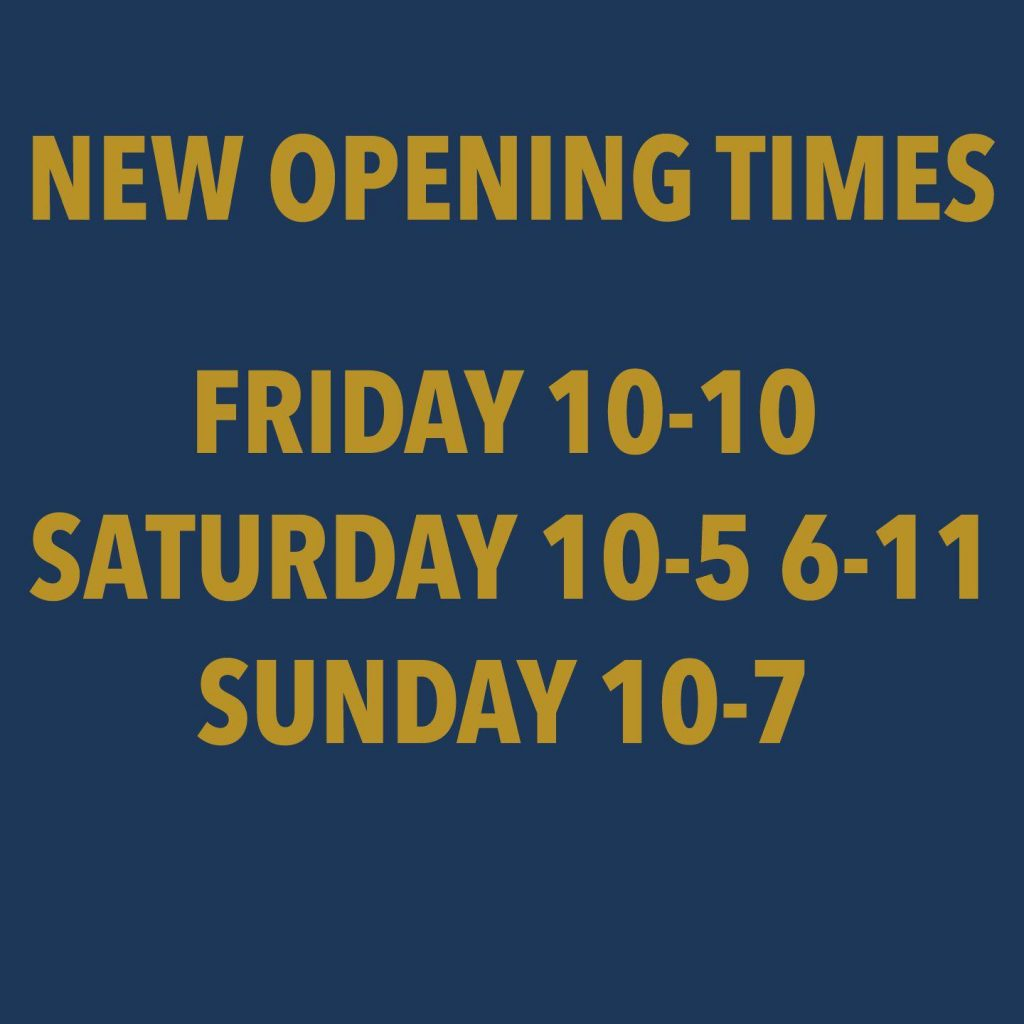Current Opening Times